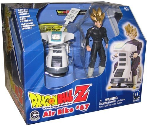 """Price comparison product image DragonBall Z Air Bike 67 w / Exclusive Super Sayian Gohan 5"""" Action Figure (2002 iRWIN Toy)"""