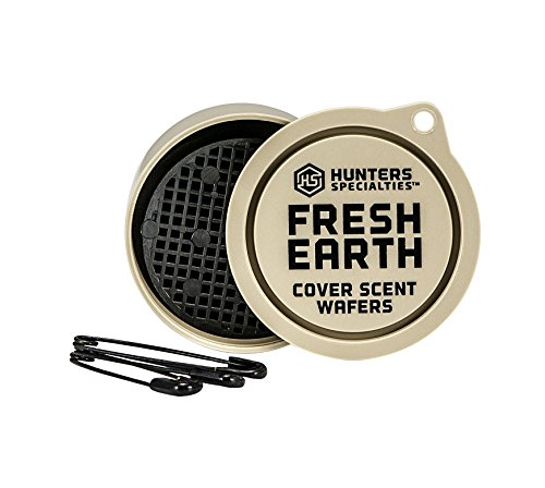 HUNTERS SPECIALTIES Fresh Earth Scent Wafers (3 Wafers) | Cover Scent Wafers Hunting Accessories, Cover Scent for Hunting, Scent Control Hunting Equipment, Hunting Scent Wafers (Model: 01022)