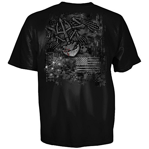 uware brands Chris Kyle Frog Foundation Kryptek Freedom T-Shirt - Black - (Freedoms Foundation)