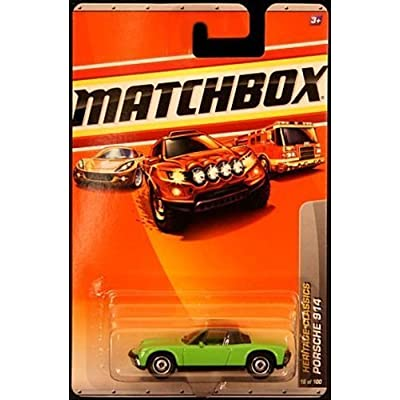 Matchbox 2010 Porsche 914 # 16/100, Heritage Classics 1:64 Scale.: Toys & Games