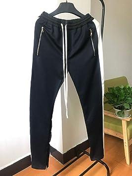Sección alargada Pantalones de chándal Hombres Occident Retro Hip ...