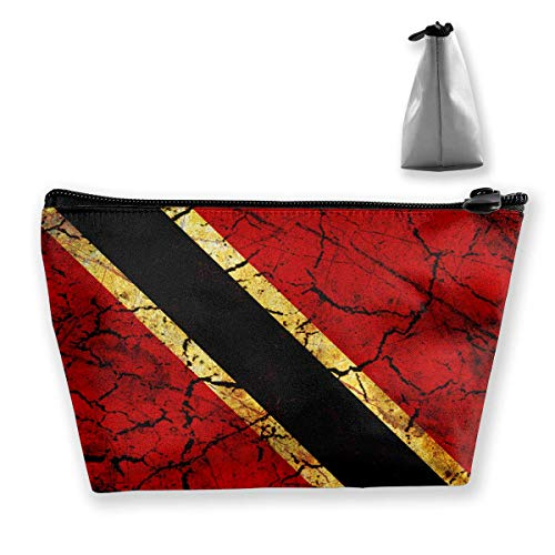 And Case Tobago Carry Trinidad Medium Travel Cosmetic Bag Pouch Vintage Makeup vqE5wxzUnx