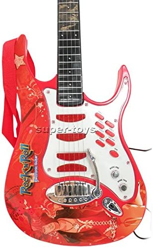 Guitarra de rock con cuerdas de acero, trípode ajustable y ...