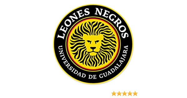 Amazon.com: Leones Negros Universidad de Guadalajara - Mexico Football Soccer Futbol - Car Sticker - 4