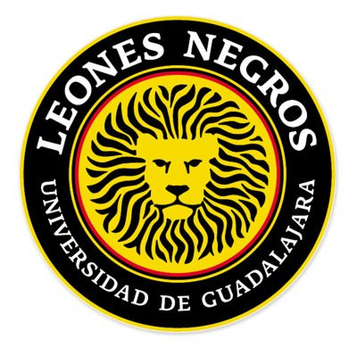 Leones Negros Universidad de Guadalajara - Mexico Football Soccer Futbol - Car Sticker - 4""