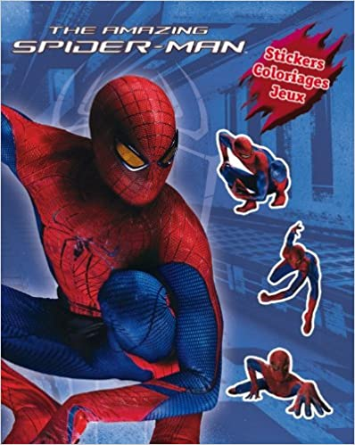 Télécharger en ligne Spiderman 4, Super Stickers pdf