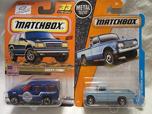 & '62 Nissan Junior Die Cast 1/64 Scale 2 Car Bundle! ()