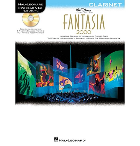 Hal Leonard Fantasia 2000 For Clarinet - Instrumental Play-Along Book/CD (Disney Solos For Clarinet)