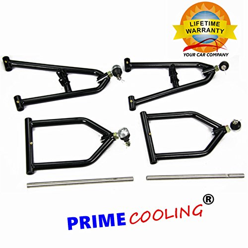 Primecooling All Stainless Steel Arms Extensions Suspension for ATV Yamaha Banshee 350 YFZ350 1987-06