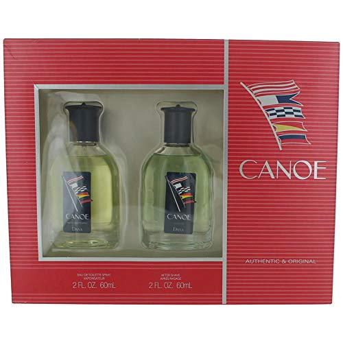 CANOE by Dana Gift Set -- 2 oz Eau De Toilette Spray 2 oz After Shave Men