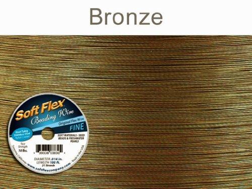 soft flex beading wire 100 ft - 9