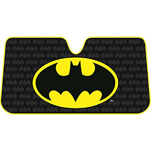 DC Comic Batman Harley Quinn Superman Windshield Side Passenger Sun Shade (Harley Sun Shade)