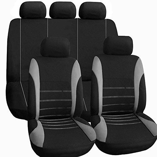 TIROL Auto Sitzbezug Auto Innenraum Zubehöre Universal Stil Auto Adbeckung