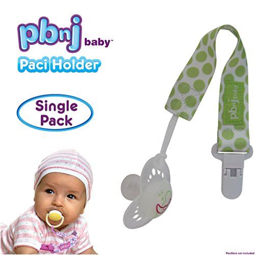 PBnJ Baby Pacifier Clip