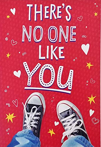 There's No One Like You - Love All The Awesome You Bring To The World - Trendy Happy Valentine's Day Greeting Card