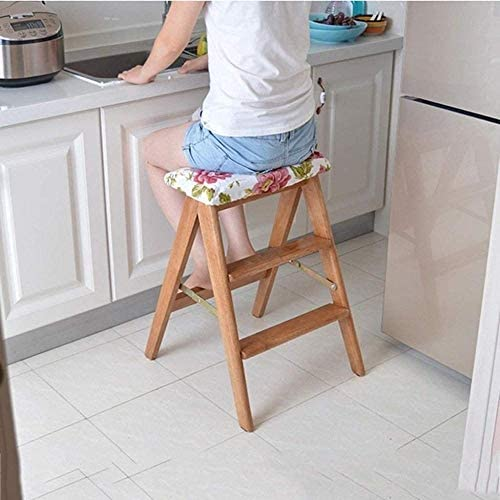 Escabeau Chaises Pliantes Pliant Tabouret escalier échelle Portable Haut Tabouret Accueil Tabouret Cuisine Chevrons chaises Pliantes