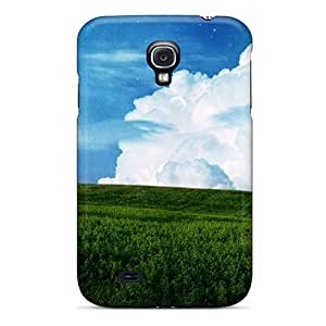 For Shopfavor Galaxy Protective Case, High Quality For Galaxy S4 Sky Field Planet Desktop Backgrounds Skin Case Cover