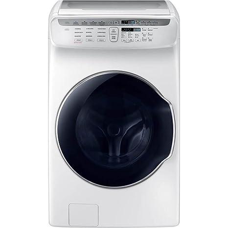 Amazon.com: Samsung 5,5 CU. FT. Color blanco flexwash ...