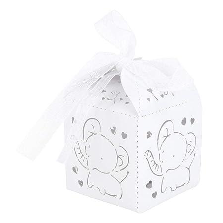 Prosperveil - Cajas de regalo con diseño de elefante para ...