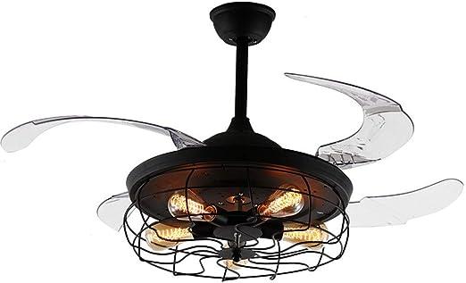 Ventilador Transparente Negro Claro Aspa Invisible Ventilador ...
