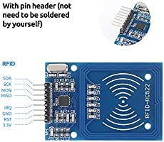 SunFounder RFID Kit Mifare RC522 RFID Reader Module with S50