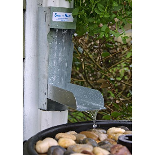 Save the Rain Water Metal Diverter - 2 x 3