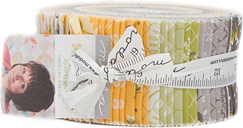 Corey Yoder Pepper & Flax Jelly Roll 40 2.5-inch Strips Moda Fabrics 29040JR by Moda Fabrics