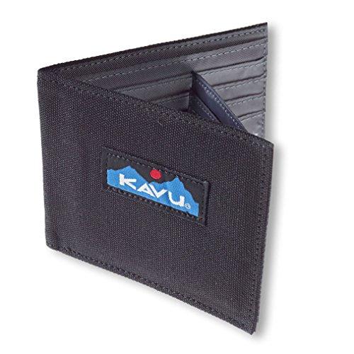 KAVU Unisex Yukon Wallet, Black, No Size