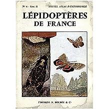 ATLAS DES LEPIDOPTERES DE FRANCE, BELGIQUE, SUISSE, ITALIE DU NORD. II. HETEROCERES.