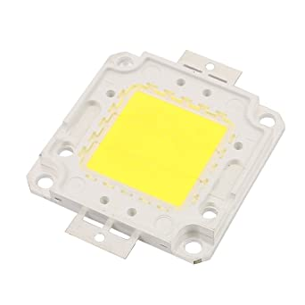 sourcing map 27V-30V 20W Bombilla LED Chip de Ultra Blanco Brillante de Alta Potencia