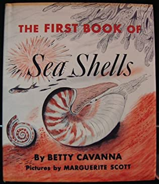 book cover of The First Book of Sea Shells