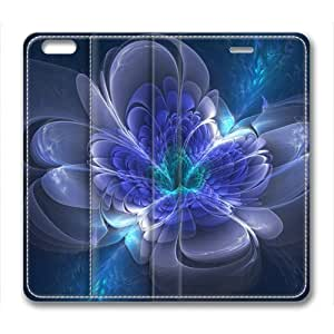 Beautiful Fractal Abstract Masterpiece Limited Design Leather Cover for iPhone 6 Plus by Cases & Mousepads