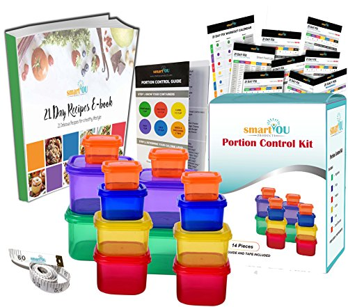 smartYOU Portion Containers COMPLETE included product image