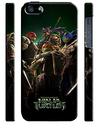 Teenage Mutant Ninja Turtles for Iphone 5 5s Hard Case Cover (turt9)