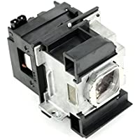 eWos PANASONIC ET-LAA110 Projector Lamp Bulb with housing Replacement for PANASONIC PT-LZ370 PT-AR100 AH1000