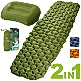 Best Camping Sleeping Pads - HiHiker Camping Sleeping Pad + Inflatable Travel Pillow Review