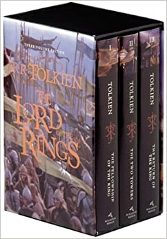 Image result for lord of the rings book set