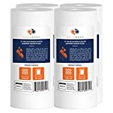 10 whole house water filter - 4-PACK Of 5 Micron 10