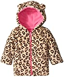 Weatherproof Baby-Girls Infant Animal Print Puffer Jacket, Brown Leopard, 12 Months