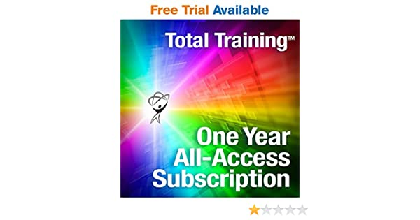 amazon com total training all access library free trial available