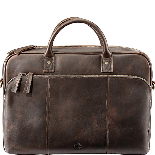Timberland Men's Tuckerman Leather Briefcase