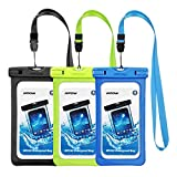 Mpow Waterproof Case,Mpow Universal Dirtproof Shockproof Snowproof Pouch Waterproof Case Bag for iPhone 7/7 Plus/6s / Plus / 6 / 5s / 5 / 5c, Samsung Galaxy S7 / S6 Edge / S5 / Note 4/3 / 2