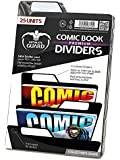 Ultimate Guard UGD020022 - Premium Comic Buch Dividers 25, Schwarz