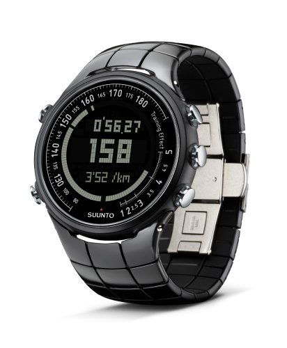 Suunto t3 Heart Rate Monitor and Fitness Trainer Watch (Black Polished)