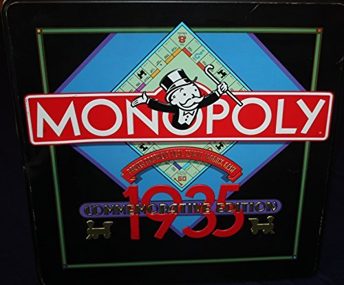 Monopoly Commemorative Edition 1935 - 50 Years Parker