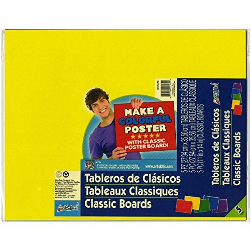 Artskills Classic Poster Board, 11 x 14