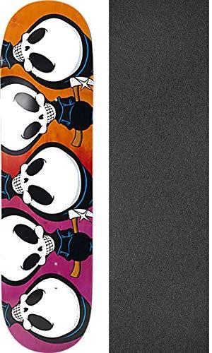 Blind Skateboards Kevin Romar Repeat Reaper Pink/Orange Skateboard Deck - 8.12