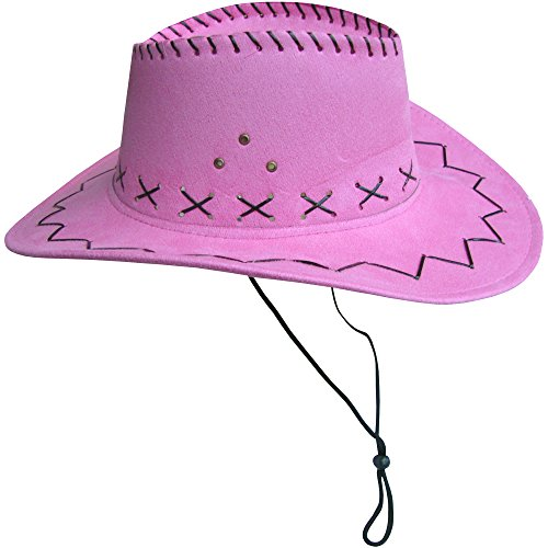 Women's Novelty Pink Stetson Cowboy Party Hat