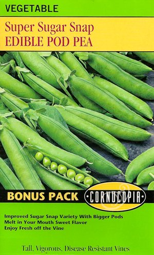 Edible Pod Pea Super Sugar Snap