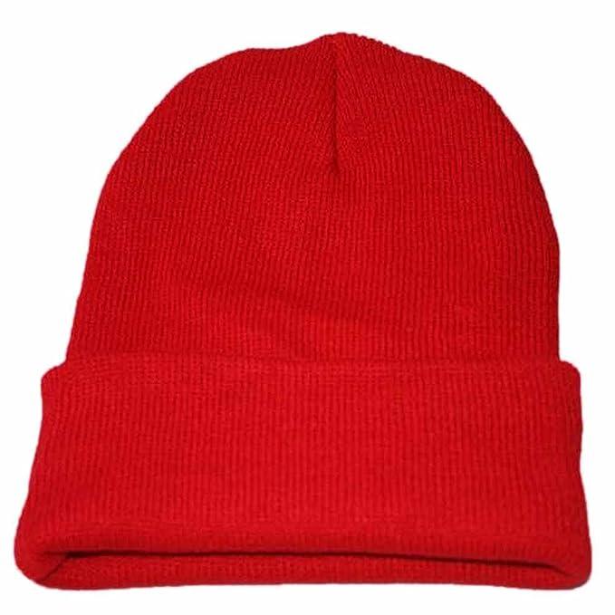 DEELIN Unisex Slouchy Tejer Gorro De Hip Hop Cap Caliente Invierno Sombrero De Esquí De Hip Hop Punto Gorro: Amazon.es: Ropa y accesorios